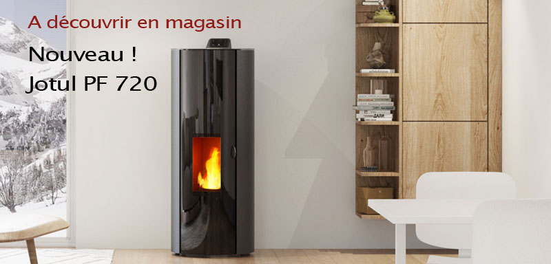 jotul pf 721 la nouveaut granul 2017 toute en couleur. Black Bedroom Furniture Sets. Home Design Ideas