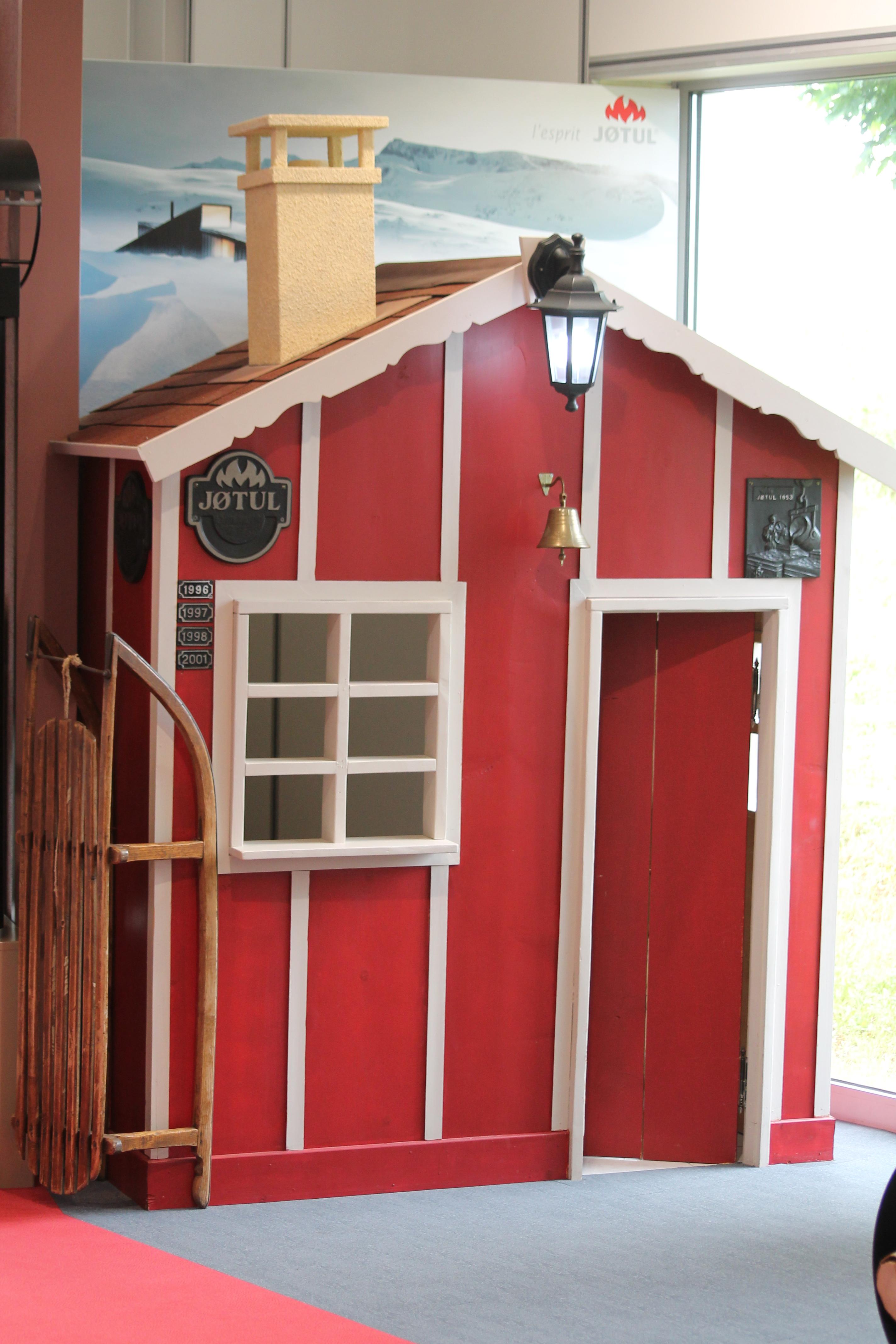 Showroom Jotul Dijon en Bourgogne, Maison scandinave pour les enfants