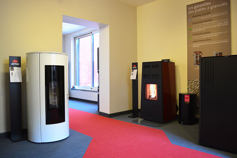 showroom jotul perpignan chemin es thouy po le et chemin e. Black Bedroom Furniture Sets. Home Design Ideas